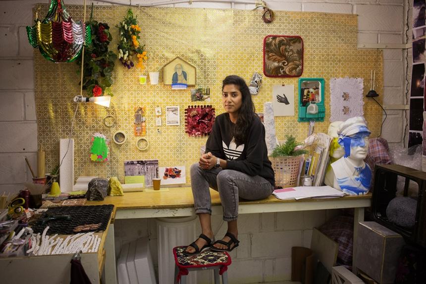 Jasleen Kaur, artist