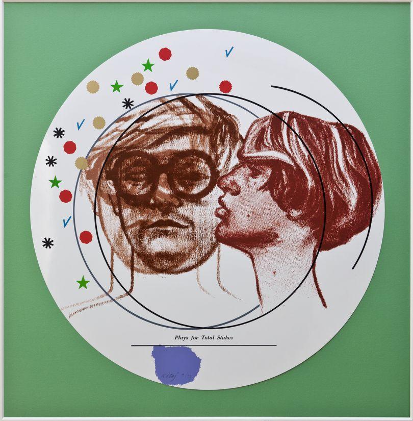 R.B Kitaj, Plays for Total Stakes, 1968, screenprint, Pallant House   Gallery (Wilson Family Loan, 2006)  © The Estate of R B Kitaj