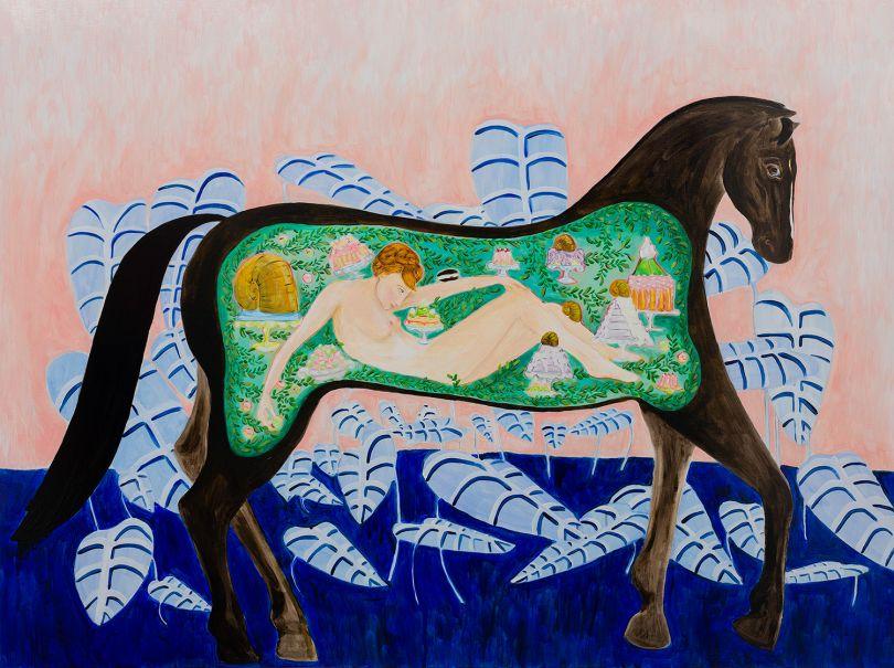© Dana Sherwood – Inside the Belly of a Horse, 2019