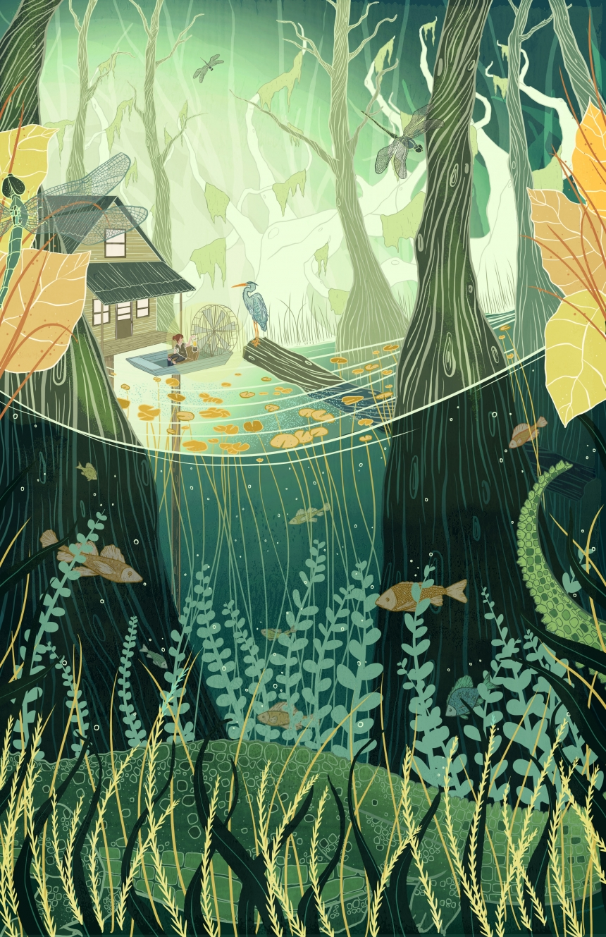 The tranquil illustrations of Kailey Whitman