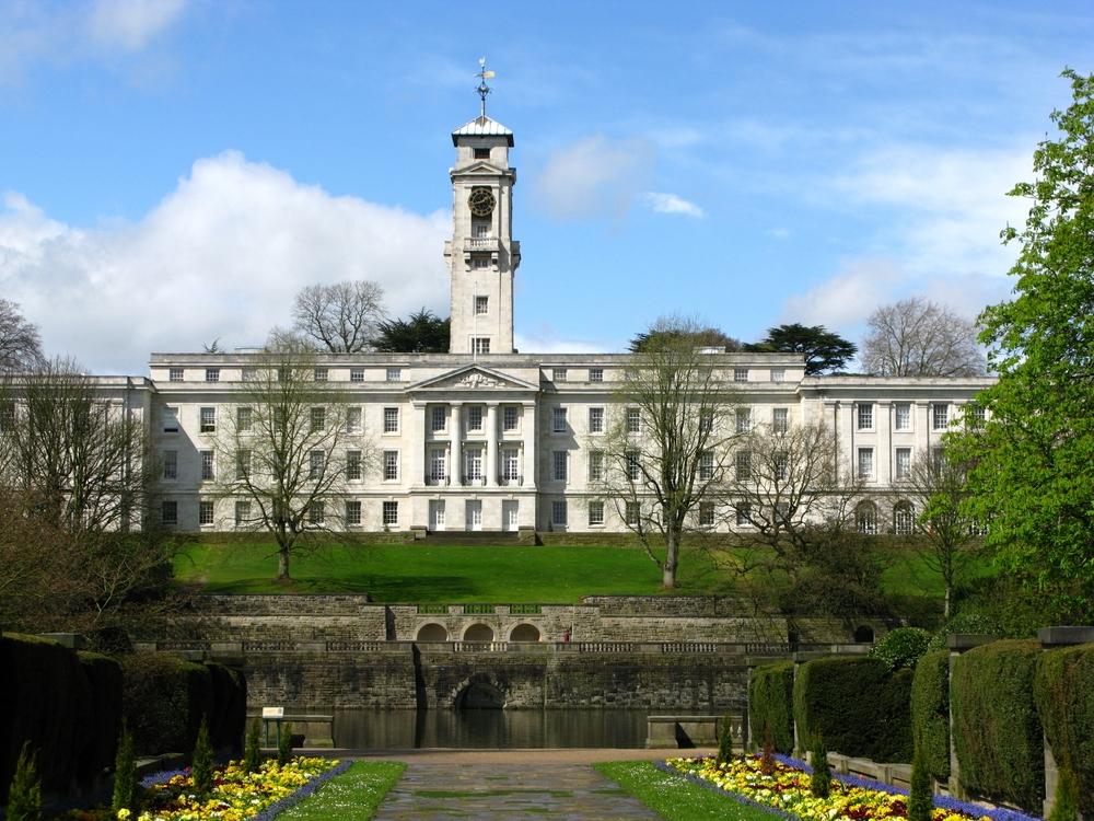 Nottingham University. Image Credit: [Shutterstock.com](http://www.shutterstock.com)