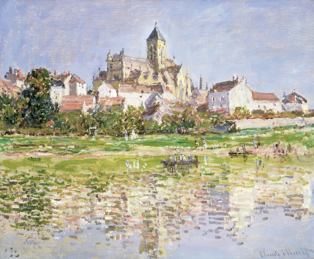 Claude Monet The Church at Vétheuil (L'Église de Vétheuil), 1879 Oil on canvas 51 × 61 cm Southampton City Art Gallery (183/1975) © Copyright Southampton City Art Gallery / Bridgeman Images