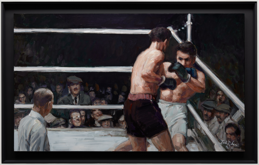Bob Dylan, Boxing Action Shot, 2020