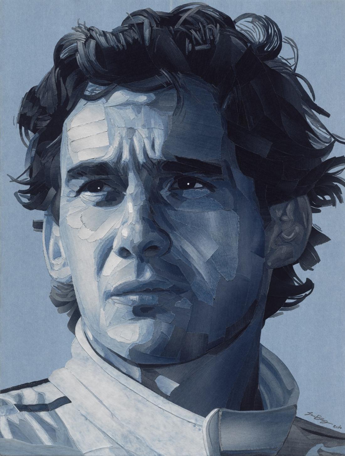 Ayrton Senna © Ian Berry