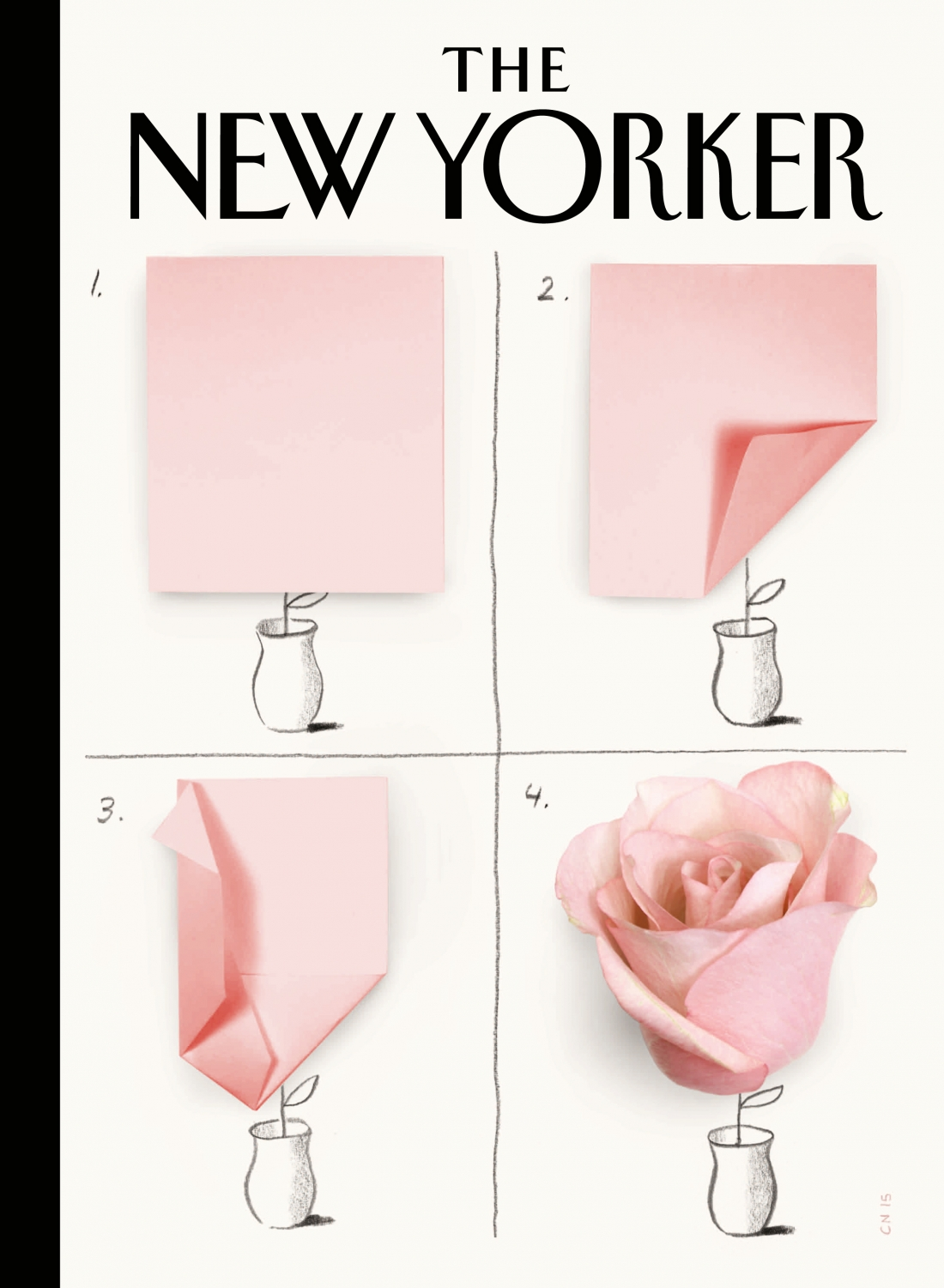 A Rose, cover for The New Yorker, March 23 2015