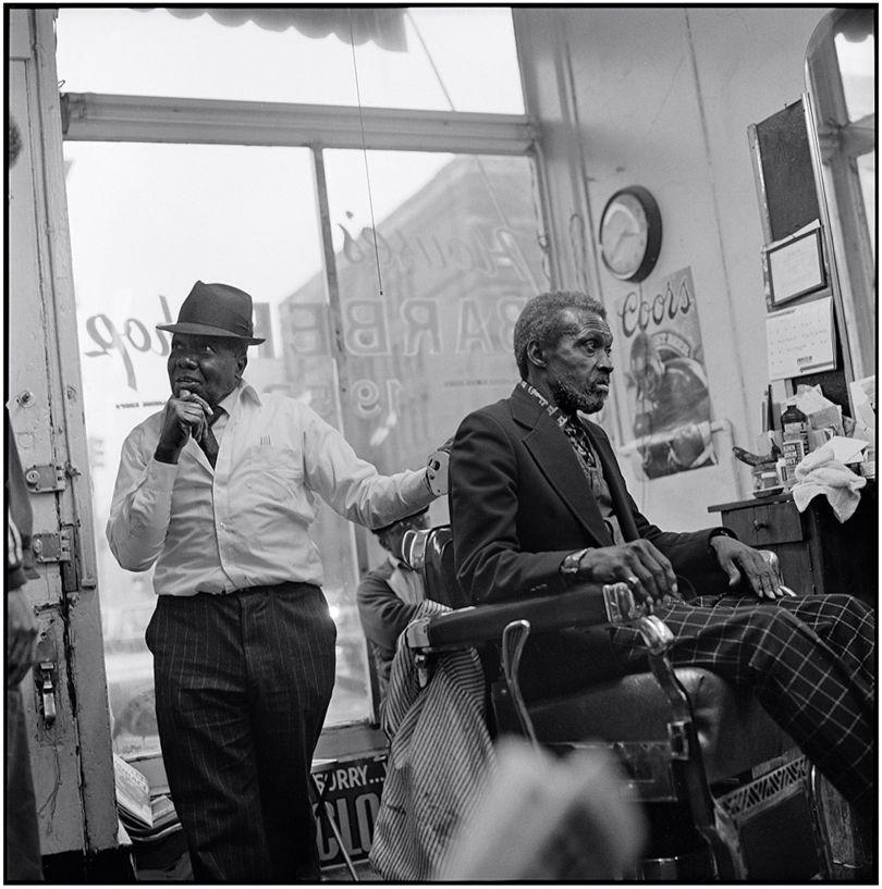 Mr Ben #2, House's Barber Shop © Jeffrey Henson Scales