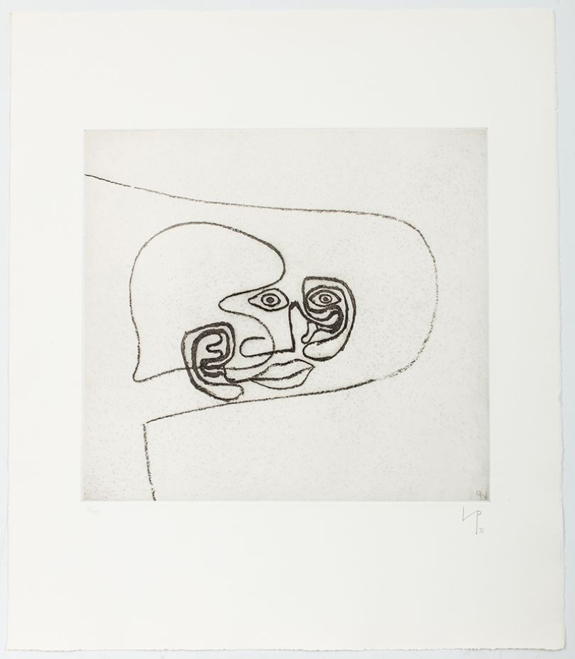 Victor Pasmore Linear Motif 8, 1965-76 etching and aquatint on paper Courtesy Marlborough Fine Art