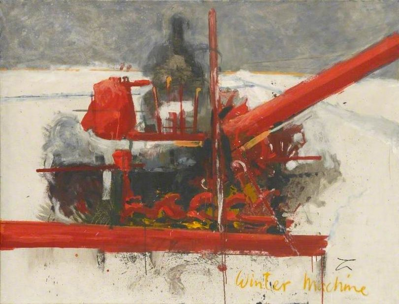 Victor Willing, Winter Machine, 1956, oil on canvas © The Artist's Estate. Arts Council Collection, Southbank Centre, London