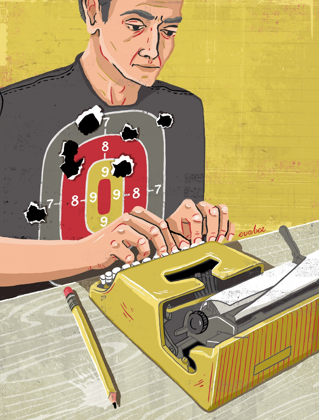 Index on Censorship: Editorial Illustration