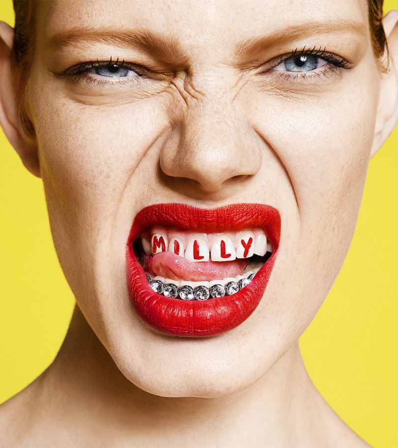 Jessica Walsh's identity for Milly