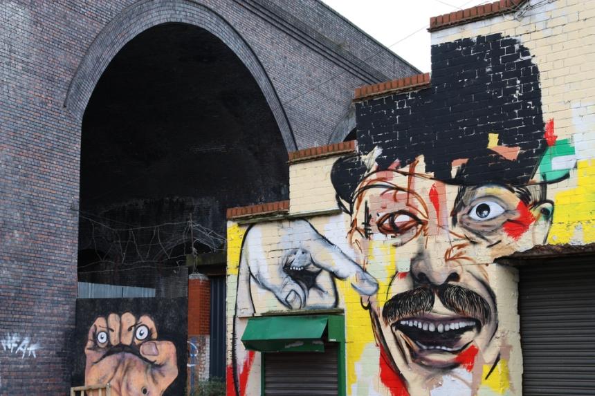 Street art in Birmingham's creative Digbeth district. Image Credit: Tupungato/[Shutterstock](http://www.shutterstock.com/)