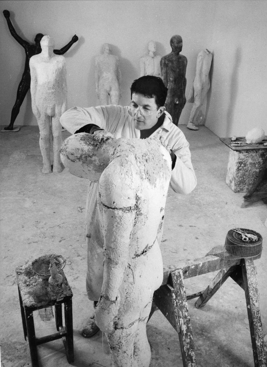 Anne Purkiss Sir Antony Gormley, 1995. © Anne Purkiss