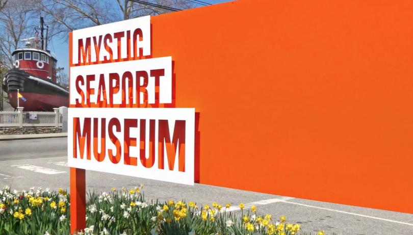 CSA, Mystic Seaport Museum signage