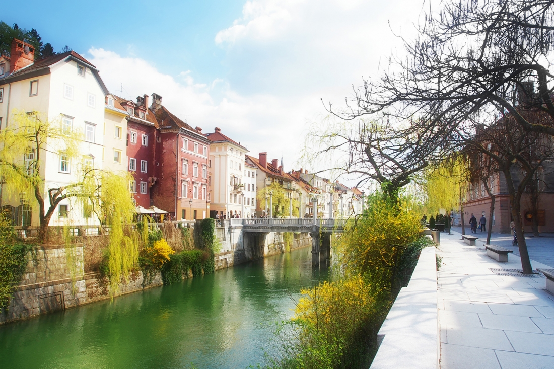 The Cobblers' Bridge, Ljubljana