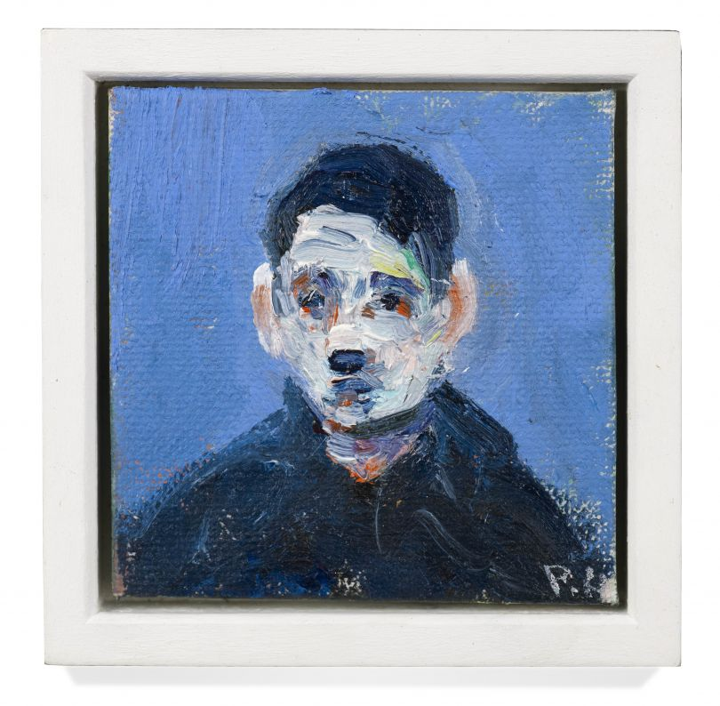Paul Housley, Red eyes, 2017. Oil on canvas, 15 x 13 cm. Courtesy of the artist.