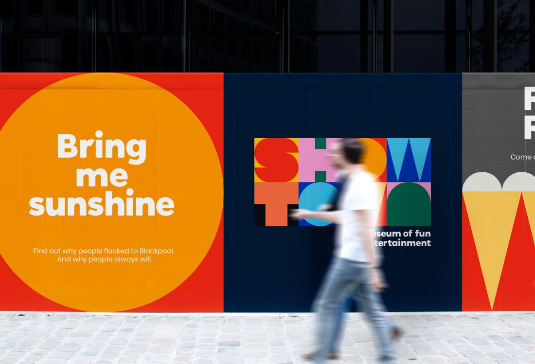 True North's playful identity for Blackpool's first-ever museum celebrates the 'joy and whimsey' of the seaside town