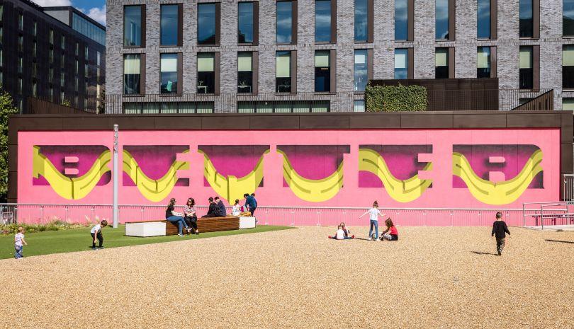 Pref, London Mural Festival - 22 Wembley Park Boulevard, Wembley Park. Photo Credit: Chris Winter