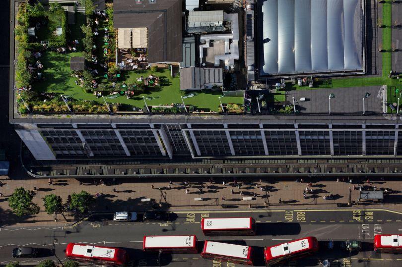John Lewis Oxford Street roof garden © Paul Campbell Photographer