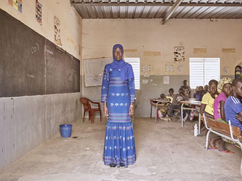 M.me Ngom - Elementary School Teacher © Giovanni Hänninen