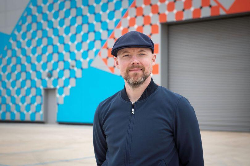 Artist and creator of Haldane, Colin Davies. Image credit: Tracy Kidd