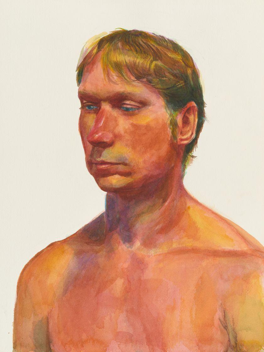 Lewis, Untitled (Portrait 2), c. 1980