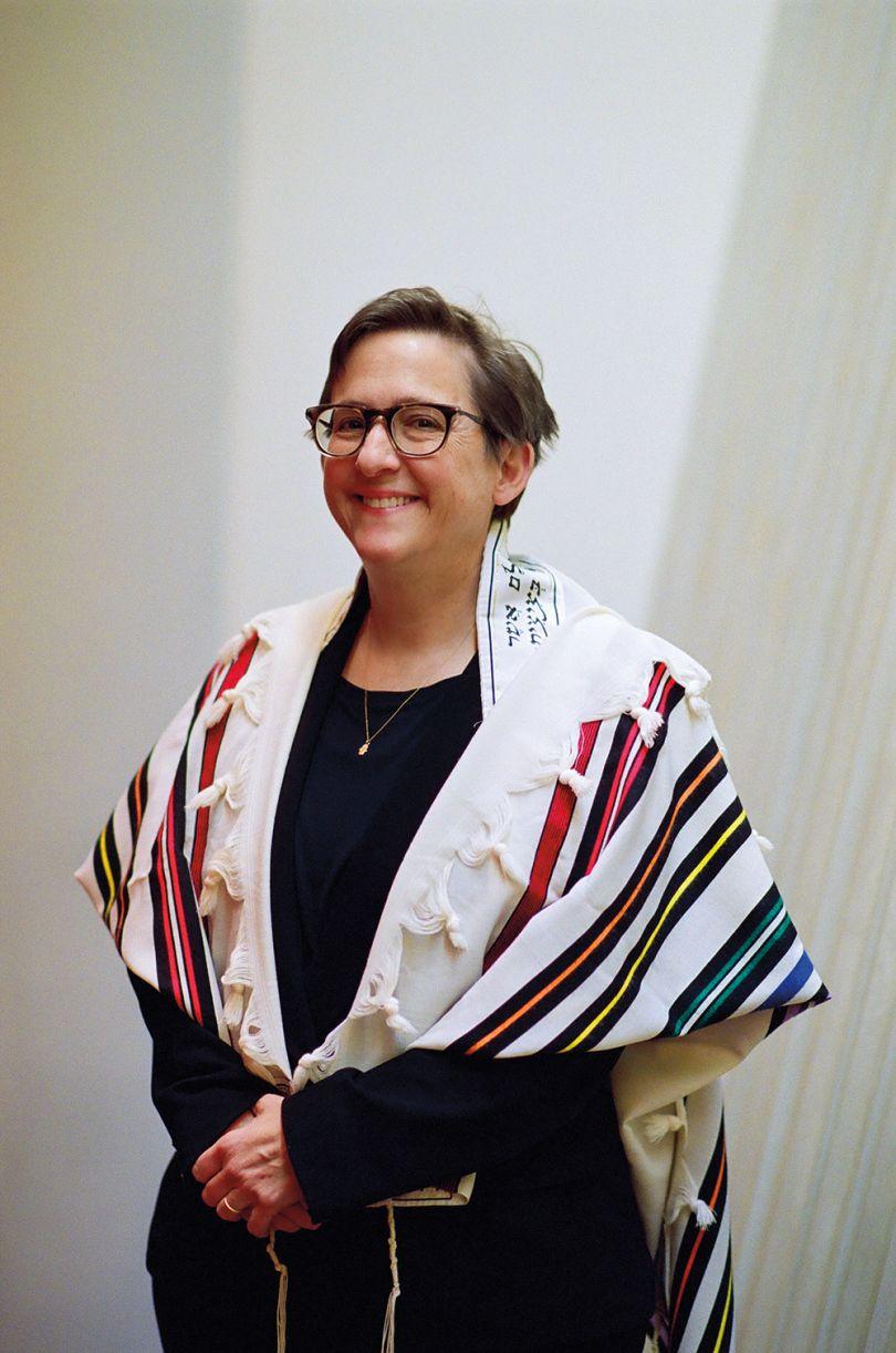 Rabbi Sharon, Kleinbaum Spiritual leader of New York City's Congregation Beit Simchat Torah © Delphine Diallo
