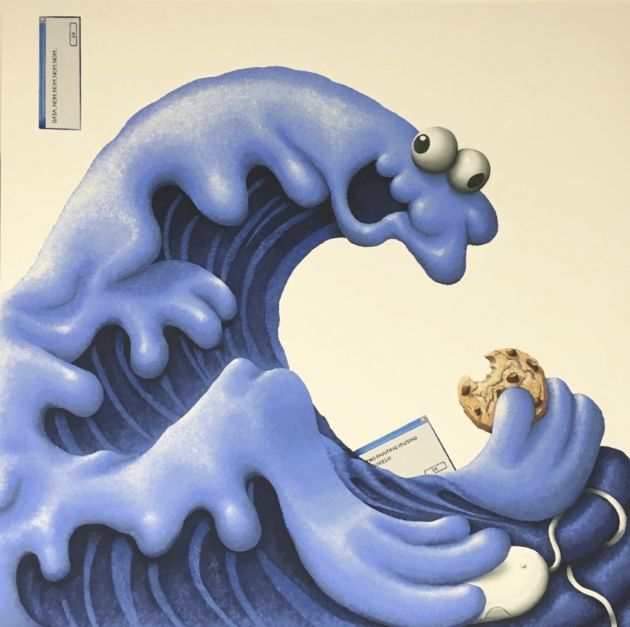 Hokusai's Monster © Sebastian Chaumeton. All images courtesy of the artist and Maddox Gallery. Via CB submission