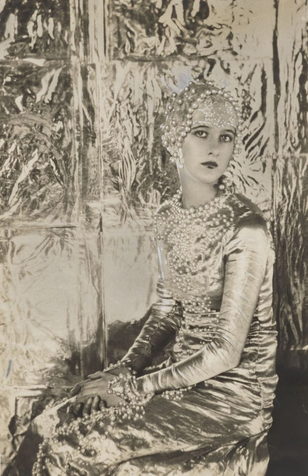 Baba Beaton as 'Heloise' in 'Great Lovers Pageant' by Cecil Beaton, 1927. National Portrait Gallery, London