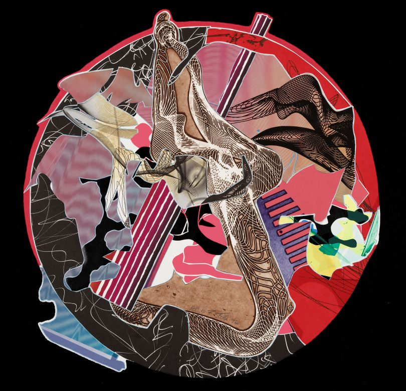 Frank Stella, American, born 1936. Sanor, 1996. Lithograph, screenprint, etching, aquatint, relief and engraving on paper, 73.66 cm. Addison Gallery of American Art, Phillips Academy, Andover, MA, U.S.A. Tyler Graphics Ltd. 1974-2001 Collection, given in honor of Frank Stella, 2003.44.286 / © 2017 Frank Stella / Artists Rights Society (ARS), New York
