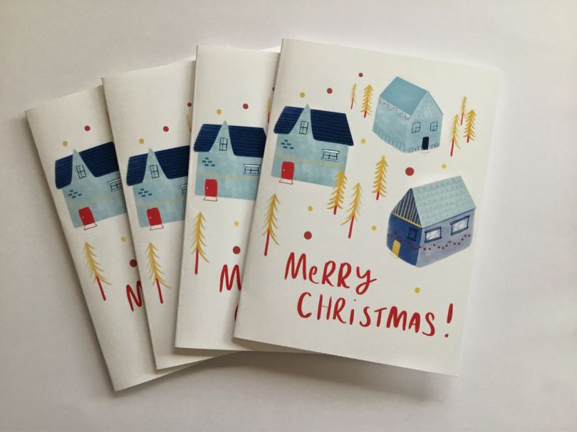 Priced at £11.70 for pack of four   Buy the cards