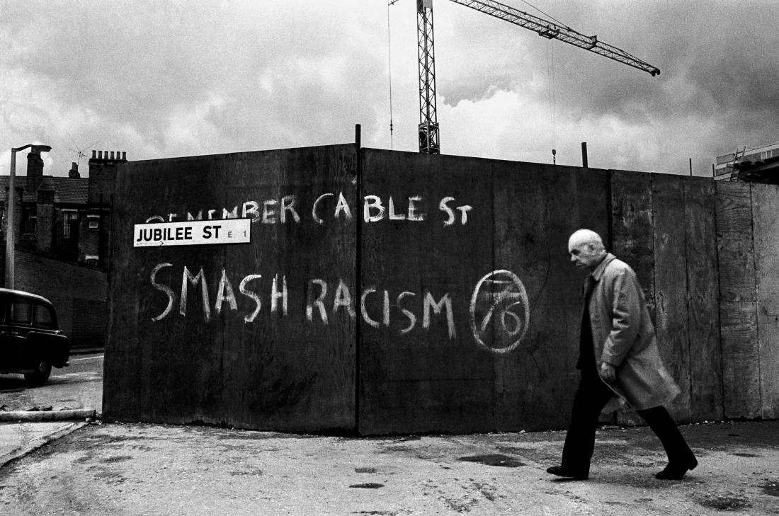 Jubilee Street, Stepney, London 1977