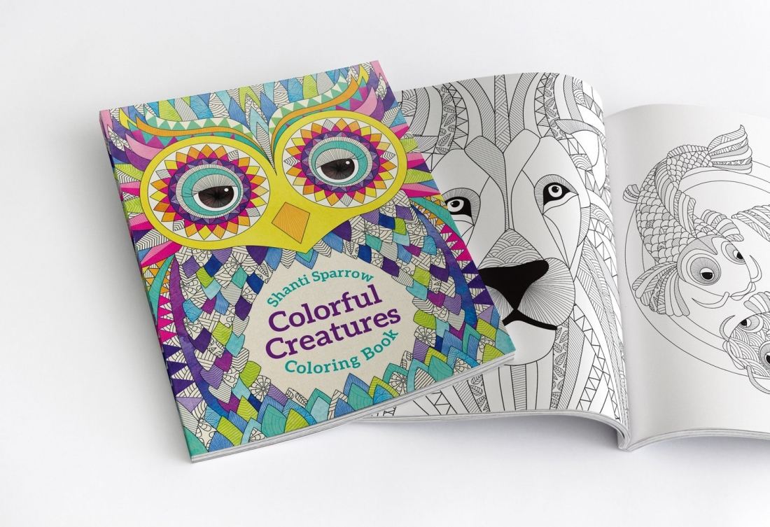 Colourful Creatures by Shanti Sparrow