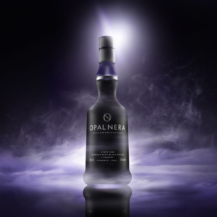 Bottle in The Dark Emotion and Mistery by Pierluigi Fossa, winner in the Photography and Photo Manipulation Design Category, 2020-2021.