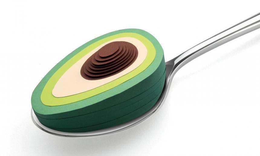 An Avocado a Day editorial illustration
