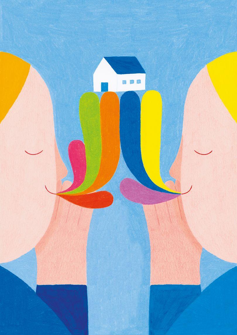 Casa by Eleonora Arosio of Italy, an interpretation of 'Home'