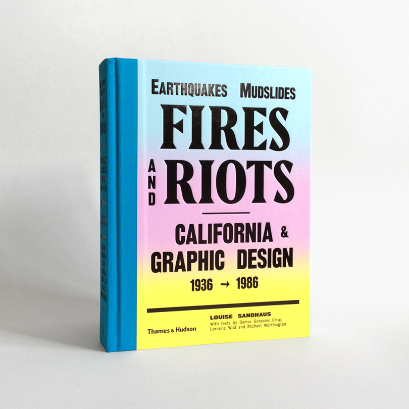 Earthquakes, Mudslides, Fires and Riots via Counter Print
