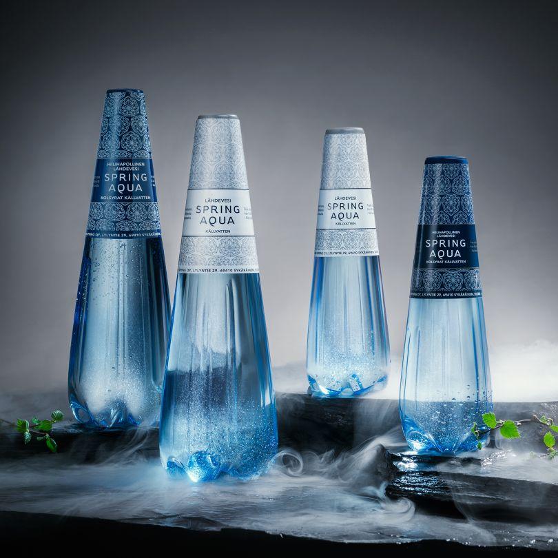 Spring Aqua Premium Bottle by Finn Spring Ltd is Winner in Packaging Design Category, 2018 - 2019