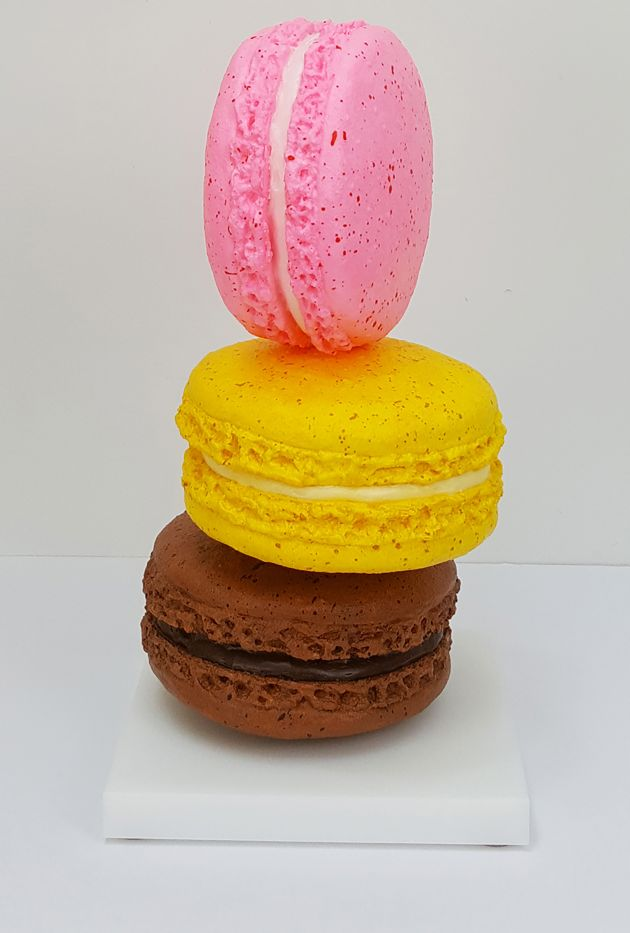 Macaron Tower, 2020 © Peter Anton. All images courtesy of the artist.