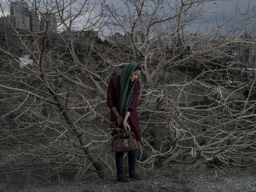 Portrait of Somayyeh. 2014 IRAN. Teheran © Newsha Tavakolian/Magnum Photos