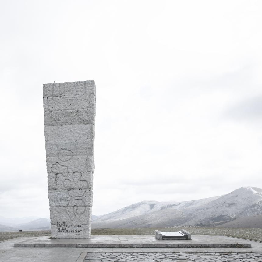 Jovana Mladenovic, Monuments