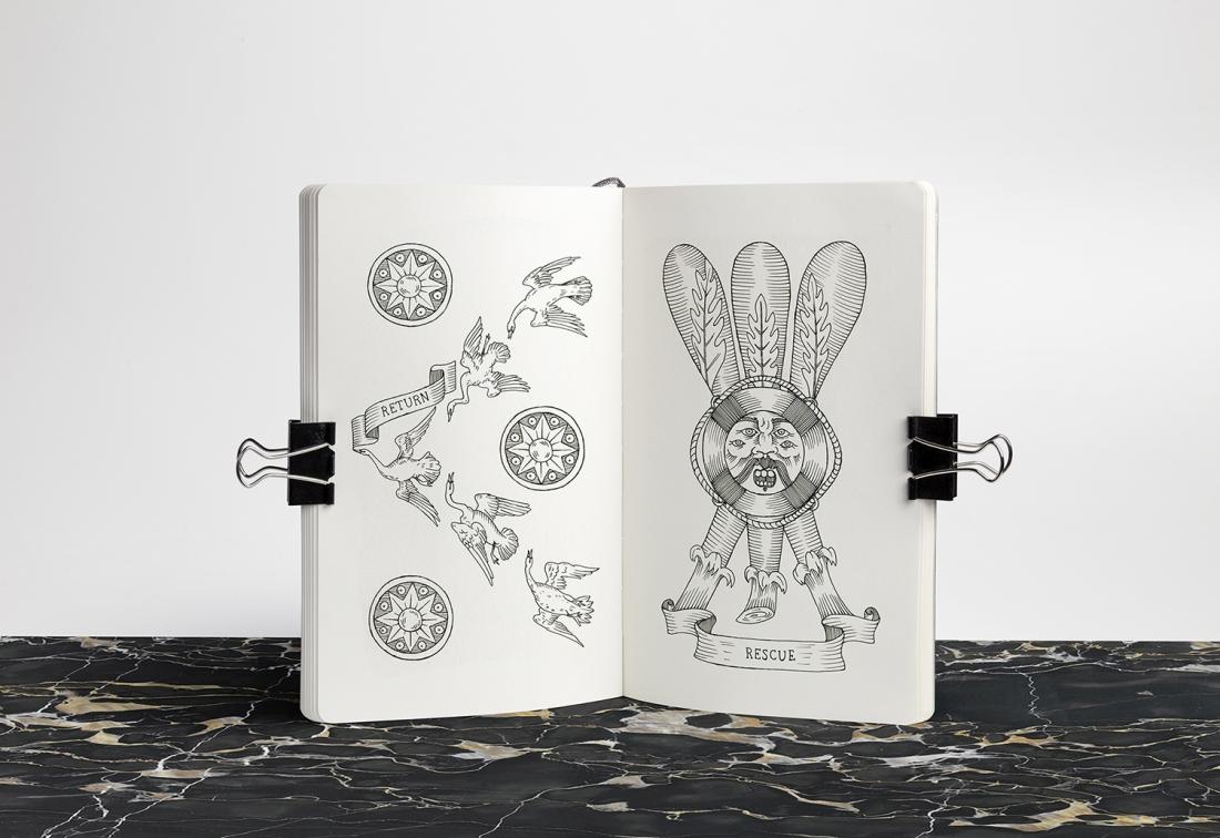 Elisa Seitzinger's s beguiling deck of Tarot cards, Minor Arcana