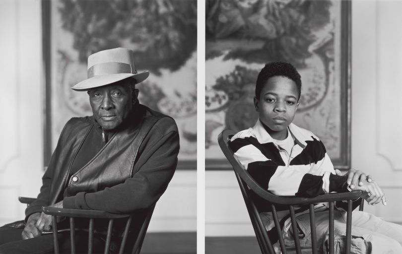 Dawoud Bey. Fred Stewart II and Tyler Collins, Birmingham Museum of Art from the series Birmingham: Four Girls, Two Boys, 2012. (From the Library of Congress, Prints & Photographs Division)