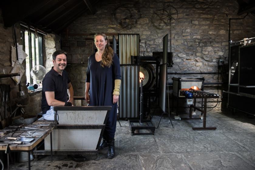 Stephen Gillies and Kate Jones - Gillies Jones Master Glassmakers