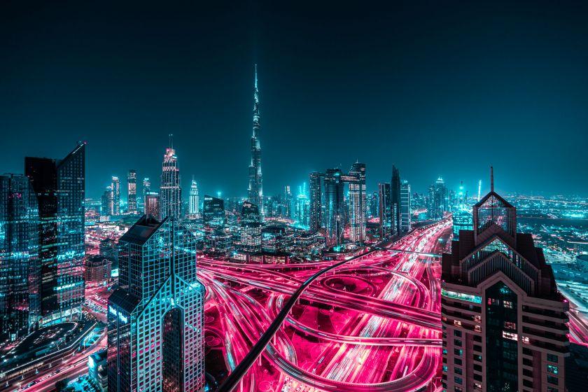 From the series, Dubai Glow © Xavier Portela