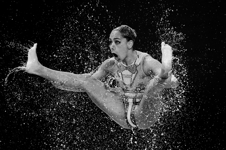 Women's Team Free Synchronised Swimming Kazan 2015 - Matthias Hangst: Teams compete in the Women's Team Free Synchronised Swimming Preliminary on day four of the 16th FINA World Championships at the Kazan Arena on July 28, 2015 in Kazan, Russia. (Professional Sport)