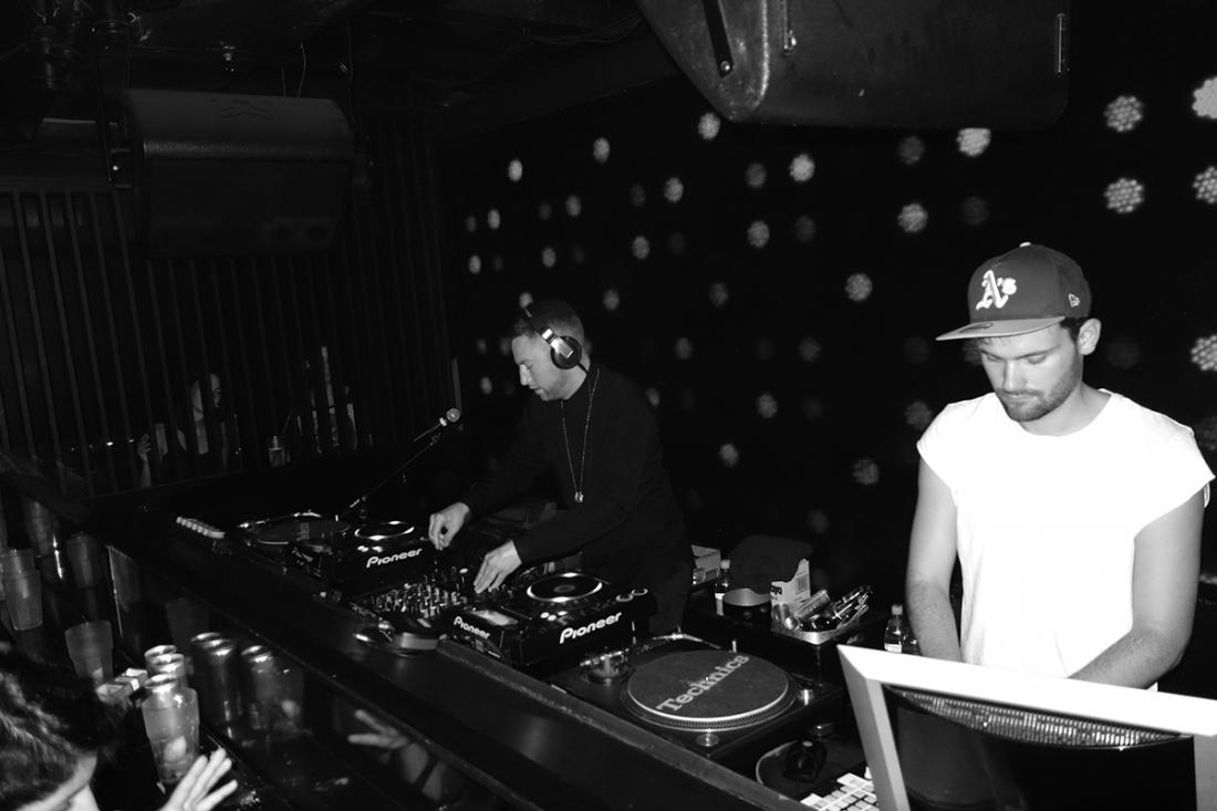 Dinamo Azari DJ Set of Azari and III, Week End Club, Berlin/Germany, 2014 © Ed Broner