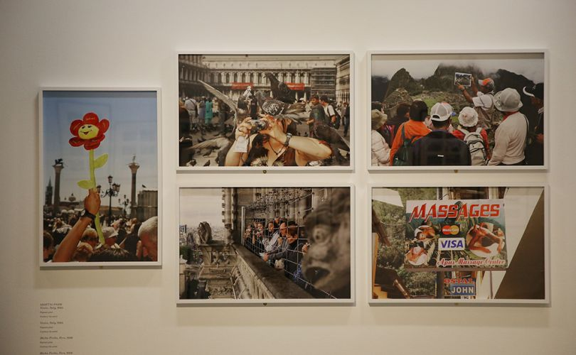 Magnificent Obsessions: The Artist as Collector, Martin parr's artwork. Photograph by Peter McDiarmid