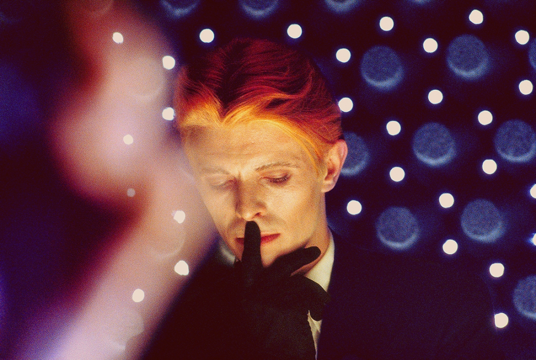 David Bowie, The Man Who Fell to Earth, 1975. © Steve Schapiro, courtesy Howard Greenberg Gallery, New York