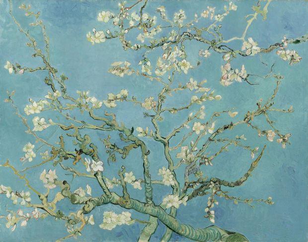 Almond Blossom. Vincent van Gogh (1853 - 1890), Saint-Rémy-de-Provence, February 1890. Oil on canvas, 73.3 cm x 92.4 cm. Credit: Van Gogh Museum, Amsterdam (Vincent van Gogh Foundation)