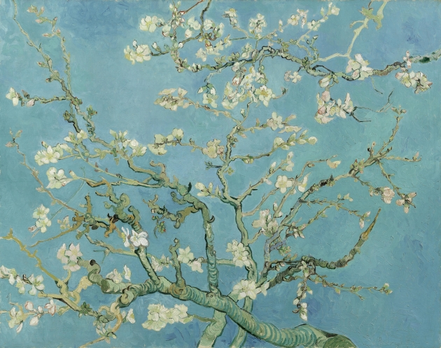 Almond Blossom. Vincent van Gogh (1853 - 1890), Saint-Rémy-de-Provence, February 1890. Oil on canvas, 73.3 cm x 92.4 cm. Credit: Van Gogh Museum, Amsterdam (Vincent van Gogh Foundation)